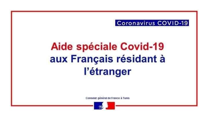 Aides exceptionnelles aux Français résidant en Tunisie