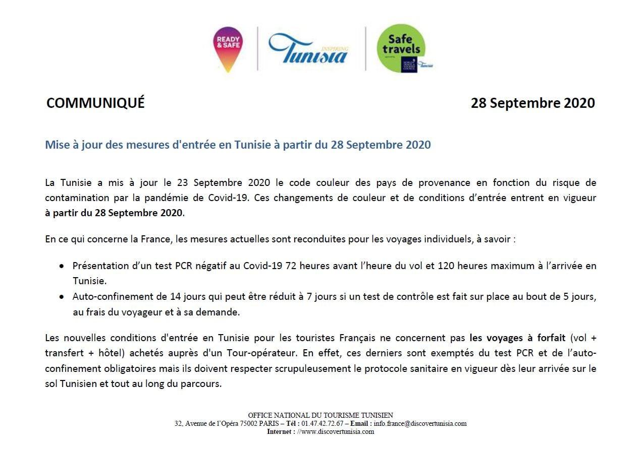 La géométrie variable du Covid 19 pour le Tourisme Tunisien