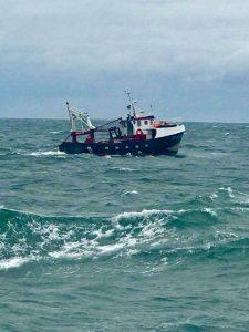 bateau marin tunisien 225x300 - Le sort inconnu de marins Tunisiens sur un bateau italien au large de la Libye