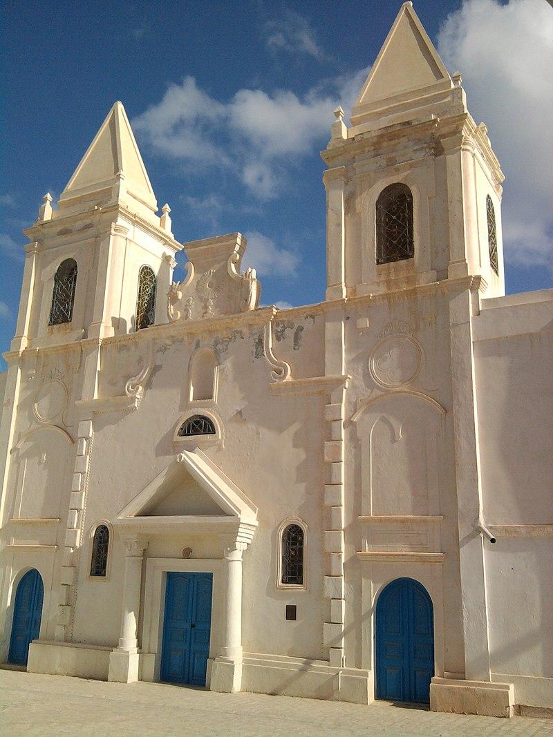 saint joseph dreba - La restauration de l'Eglise de Saint Joseph à l'île de Djerba