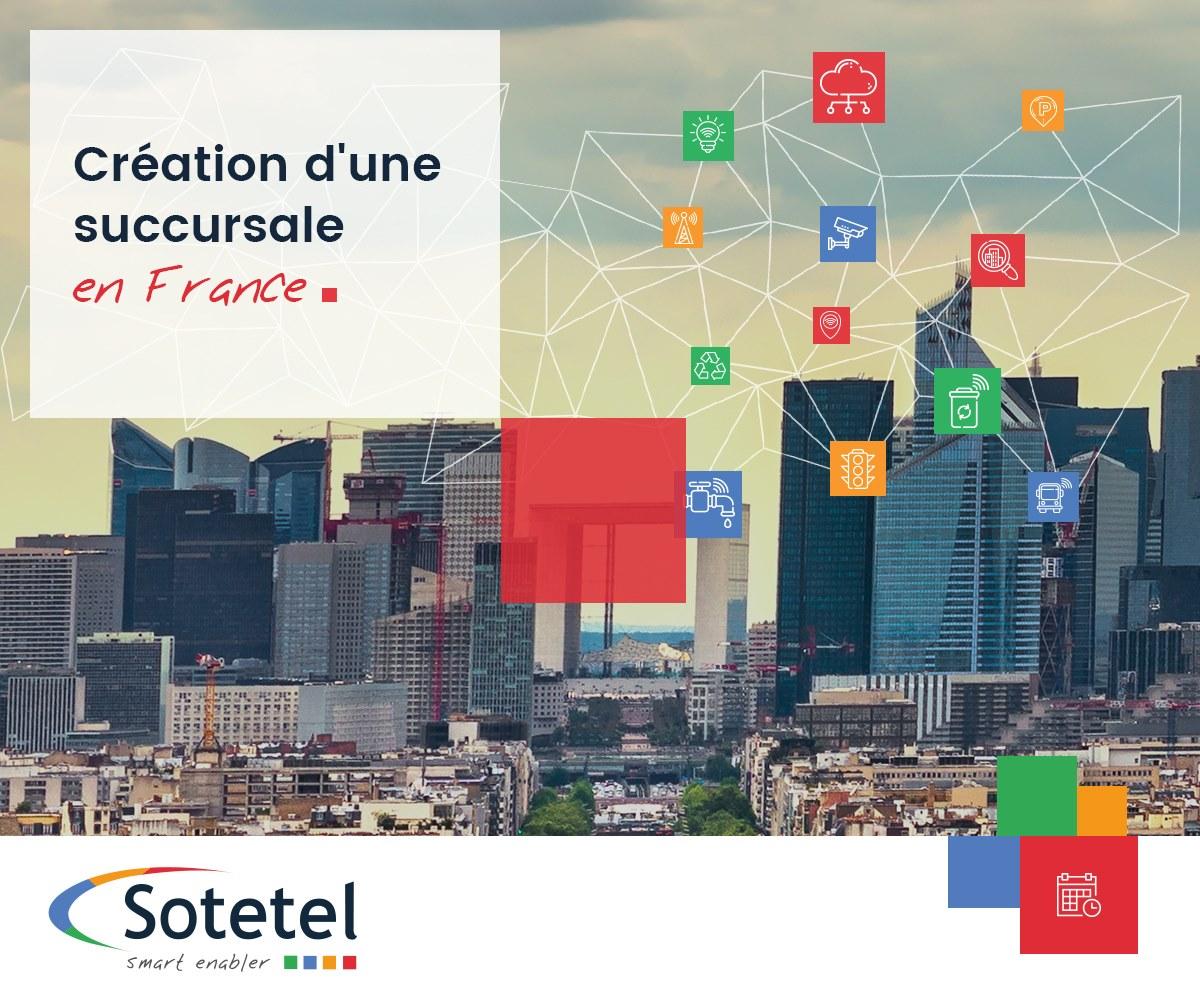 La société Tunisienne SOTETEL s'installe en France