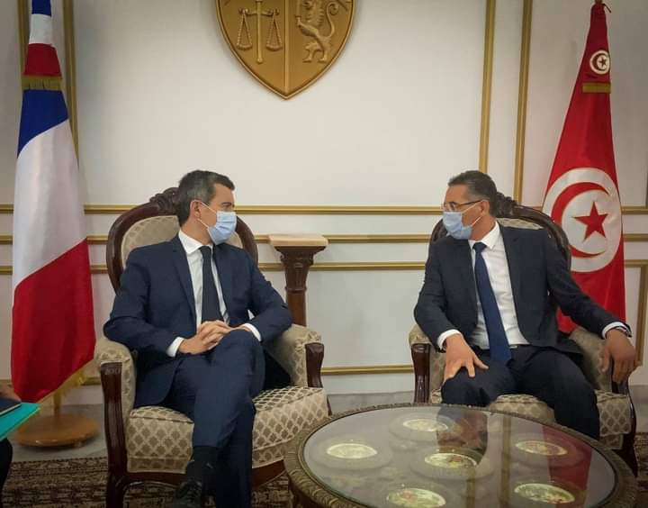 Gérald Darmanin se réjouit de la collaboration de ses interlocuteurs Tunisiens