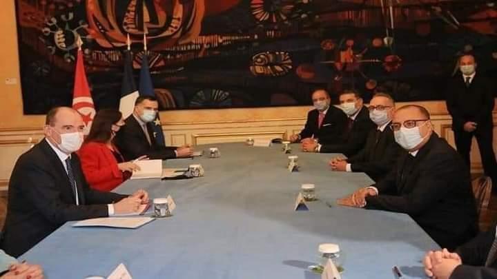Les 7 bourdes capitales de la visite officielle du Chef de Gouvernement tunisien à Paris