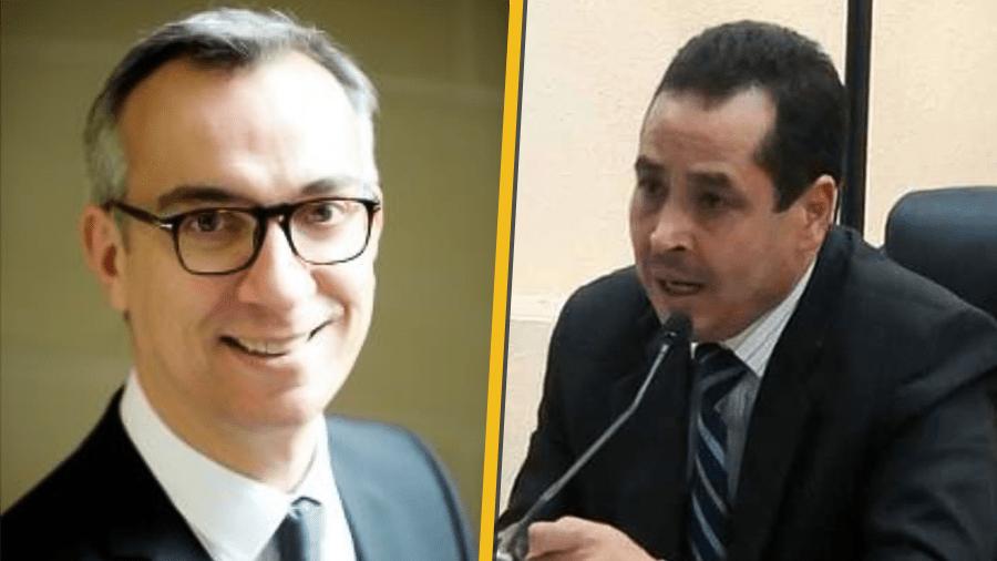La 2è réunion du groupe de travail franco-tunisien en matière pénale tenue entre Olivier Christen et Béchir Akremi