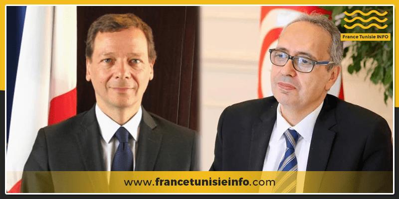 L'Ambassadeur de Tunisie en France à la rencontre du Conseiller diplomatique du Président Macron