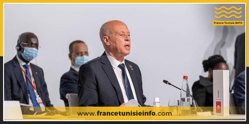 Synthèse de la participation de Kaies Saied au Sommet sur le financement des économies africaines