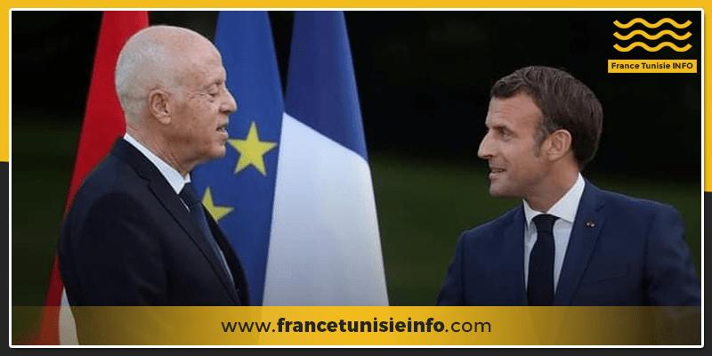 Kaies Saied Paris FranceTunisieInfo - Kaies Saied arrive à Paris pour participer au Sommet sur le financement des économies africaines