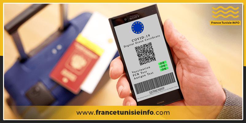 Certificat sanitaire europeen francetunisieinfo - Le Certificat Vert Numérique sera accessible dans l'UE à partir du 1er Juillet