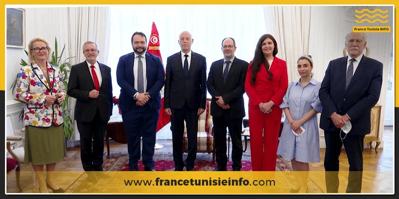 Kaies Saied annonce la création du groupe amis de la Tunisie au sein du Parlement Européen