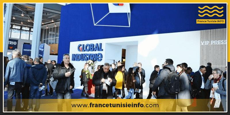 Les entreprises Tunisiennes participent au Salon Global Industrie à Lyon